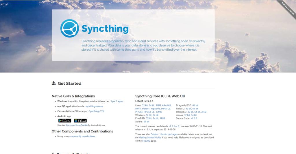 My Journey to SyncThing - Developer Daniel